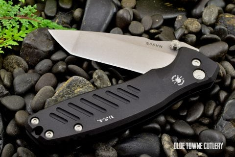 Spartan Pallas Button Lock Folder - Tanto