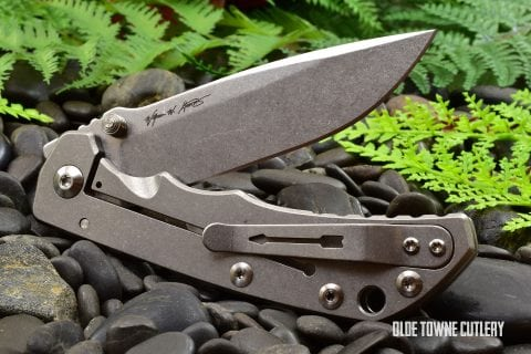 Spartan-Harsey Folder/Stone Washed