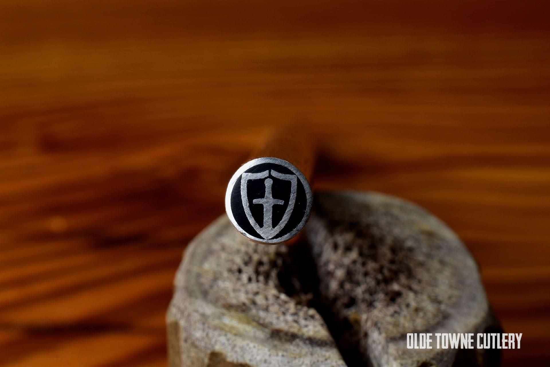 "Balatsky TEMPLAR Mosaic Pin Templar Shield 1/4"" x 4"""