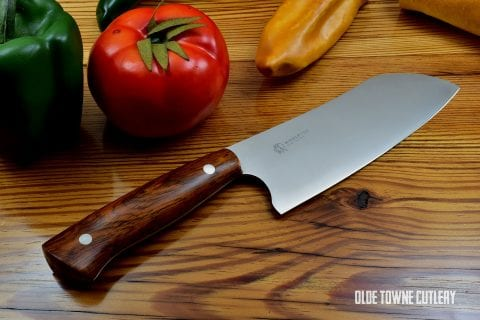 "Middleton Made Knives - 6"" Santoku Cocobolo"