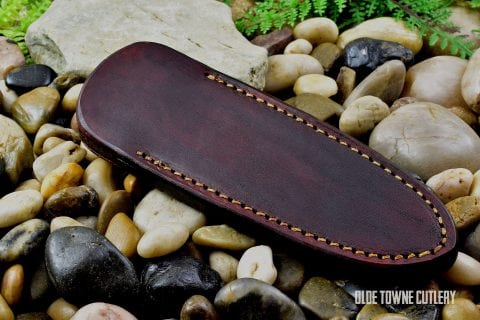 Leather Boot Sheath USA Made