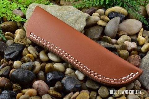Leather Knife Sheath - Large
