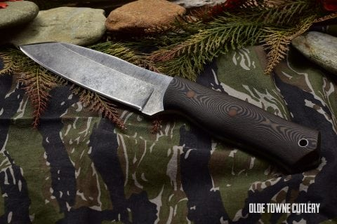 Alfa Knife Patriot Richlite/Natural Pinout
