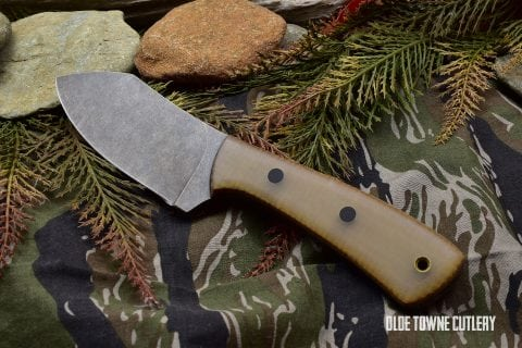 Alfa Knife Mini-Muk Jade G10 Kevlar Lightening
