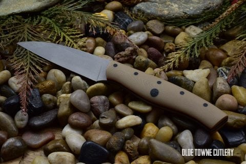 Dragonfly Blade Works Kudamono Coyote Tan G10