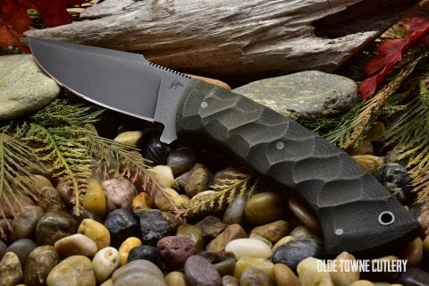 Winkler/Knight Pathfinder Sculpted Relic Green Micarta