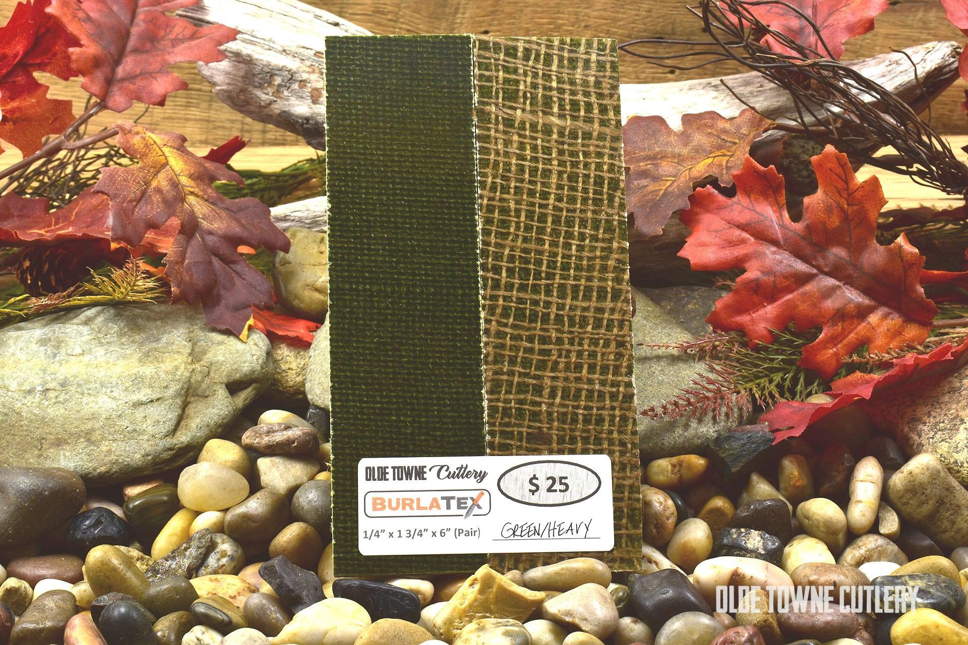 Burlatex GRNHVYSCL Green/Heavy 1/4 x 1 3/4 x 6