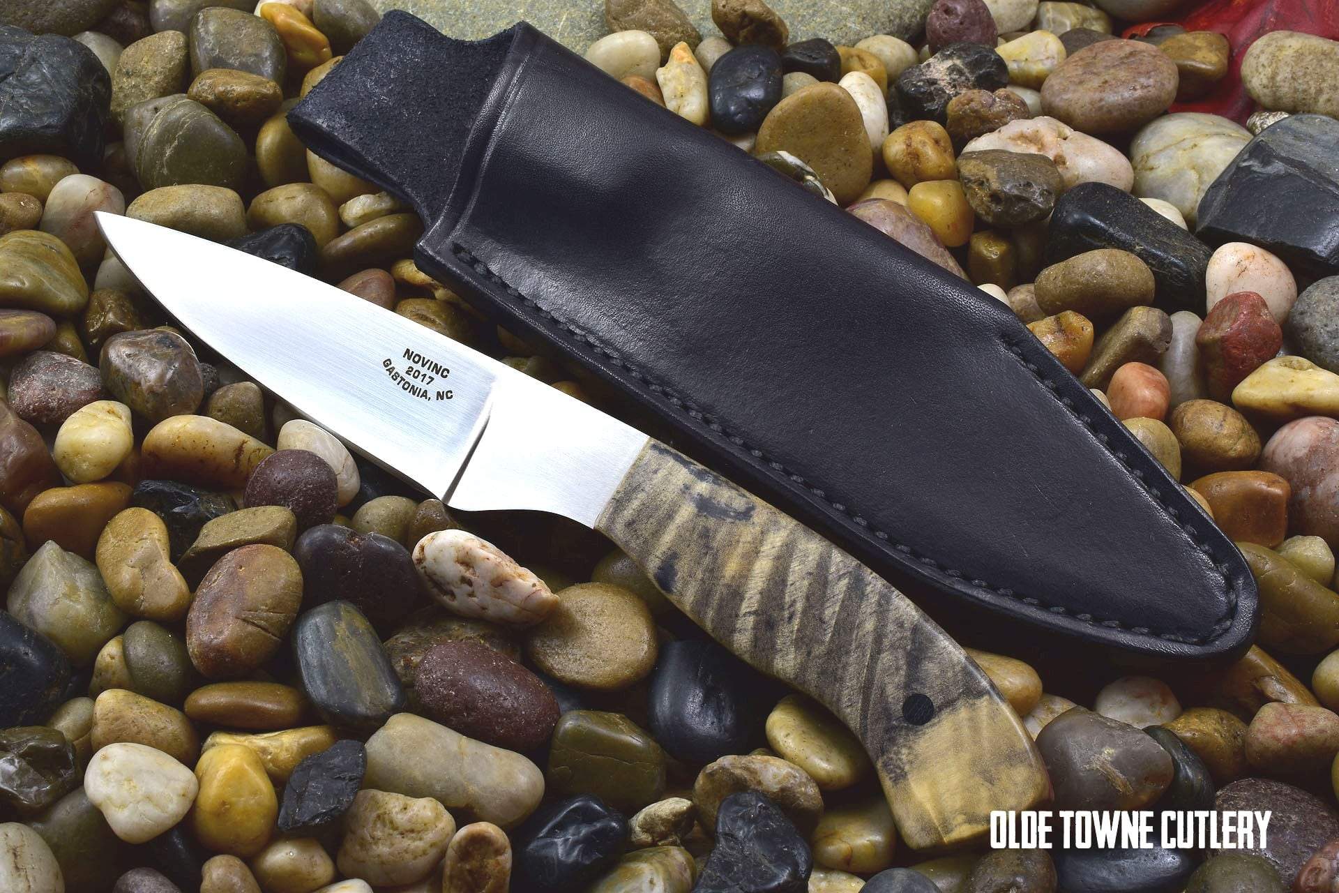 Novinc Knives Utility in Buckeye 2017 Model (C)