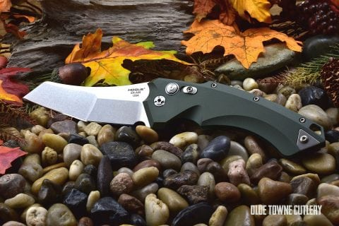 Hogue Knives 34501 EX-A05 OD Green