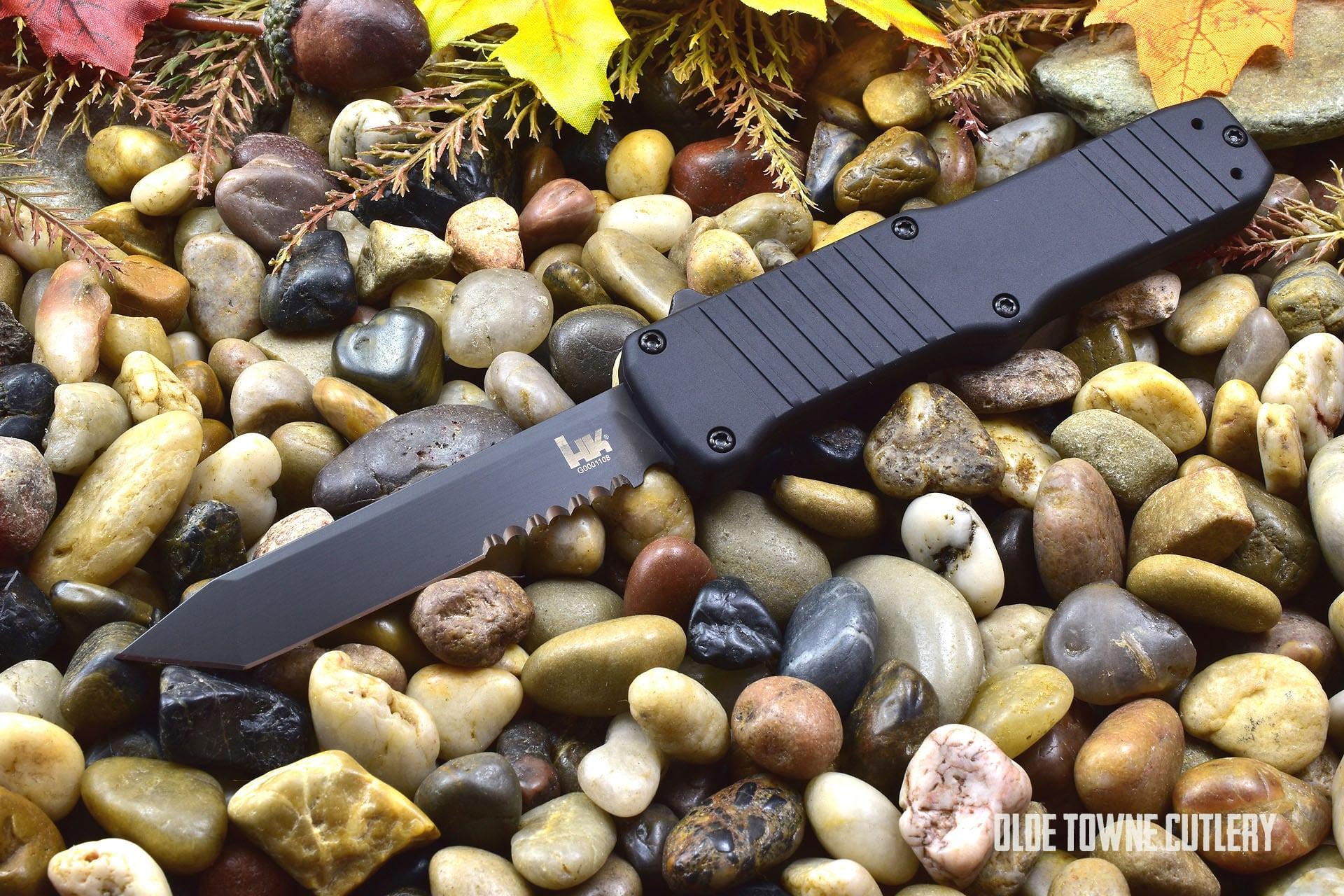 HK Knives 54000 Hadron OTF Matte Black