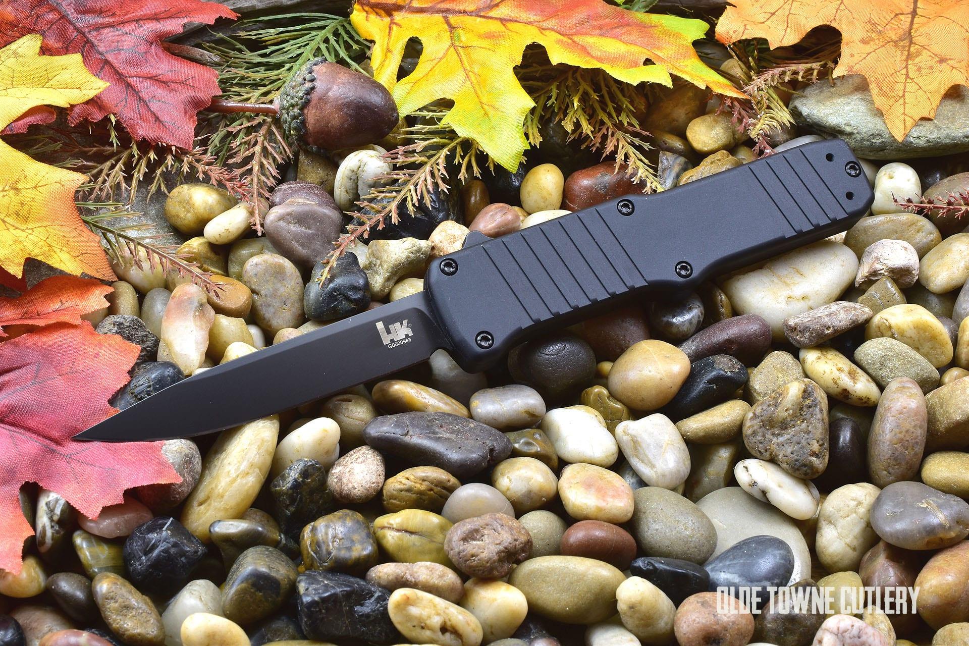 HK Knives 54010 Hadron OTF Matte Black