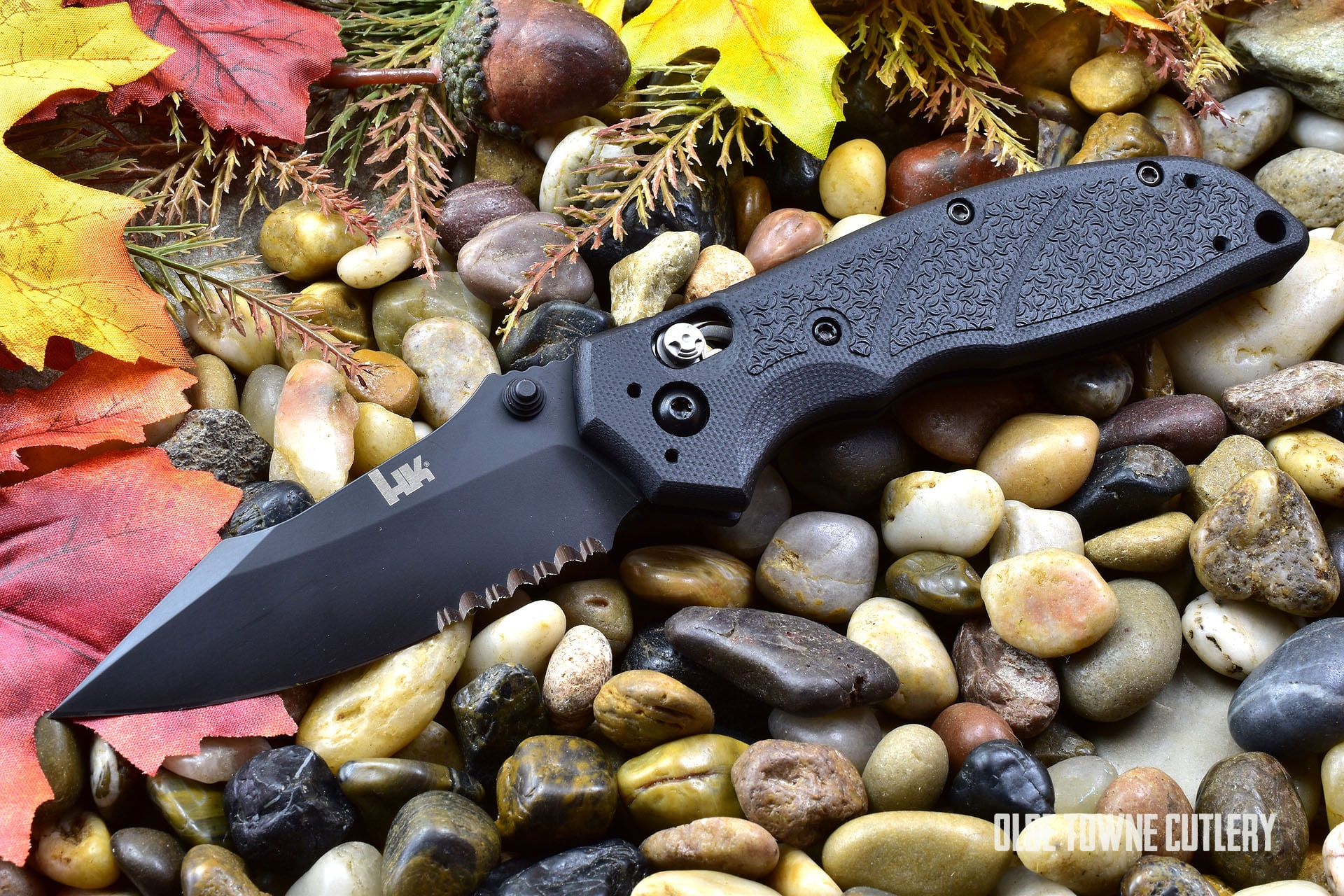 HK Knives 54150 Exemplar Folder Black