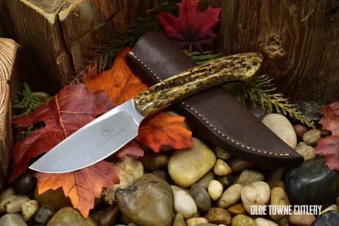 Arno Bernard Knives 6116BV Sable Kudu Bone