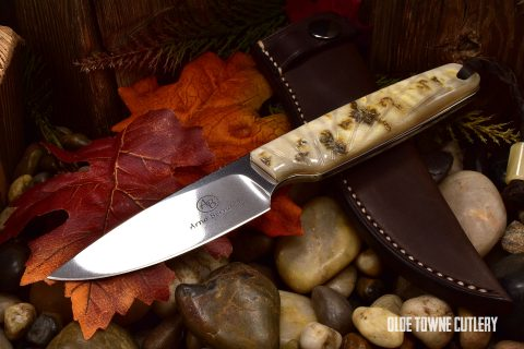 Arno Bernard Knives 7404BV Bongo Sheep Horn