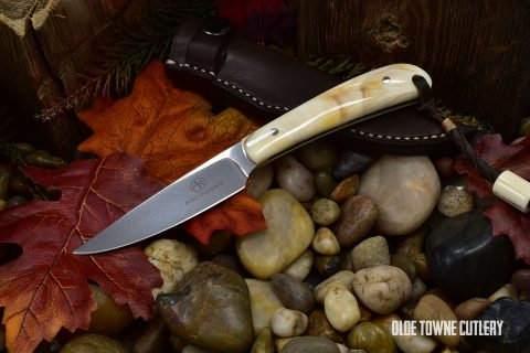 Arno Bernard Knives FF0101BV Fin & Feather Warthog Tusk