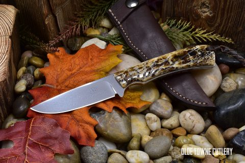 Arno Bernard Knives 7316BV-2 Badger Kudu Bone