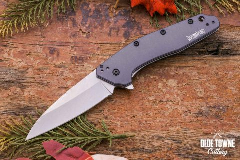 Kershaw 1812GRY Dividend Grey