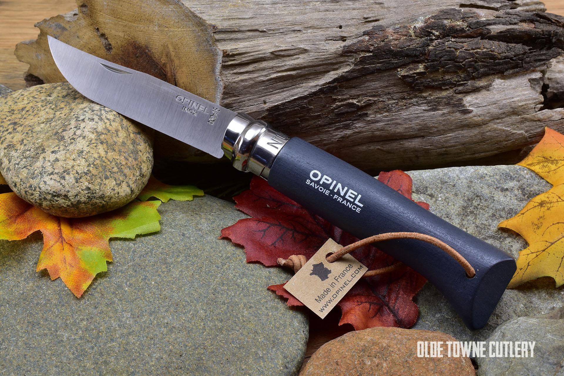 Opinel Trekking No 8 Knife Slate Dyed handle