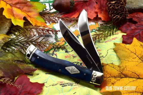 Rough Rider Small Trapper Black Bone RR1771
