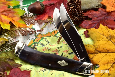 Rough Rider RR1778 Jumbo Trapper Black Bone