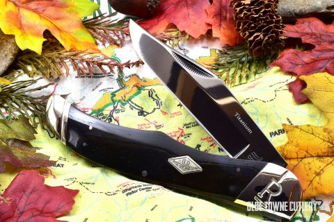 Rough Rider Folding Hunter Black Bone RR1779