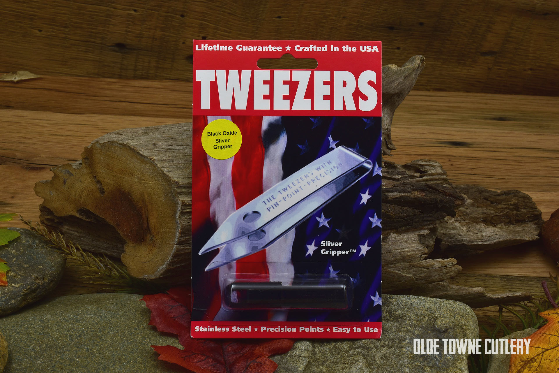 Sliver Gripper SGR601BLOX Precision Tweezers