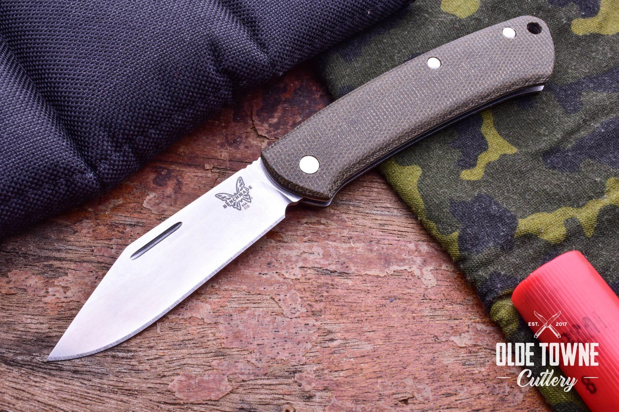 Benchmade 318 Proper Clip Pt