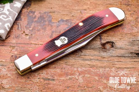 W.R. Case & Sons 61048SS Chestnut Slimline Trapper