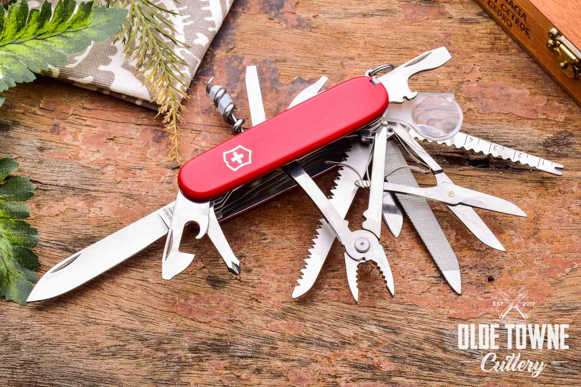 Victorinox Vn53501 Swiss Champ Red Knives For Sale