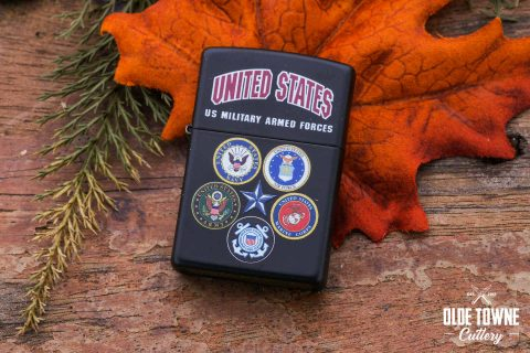 Zippo ZO28898 US Military Armed Forces