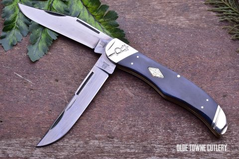 Rough Rider RR1785 Folding Hunter Black Bone