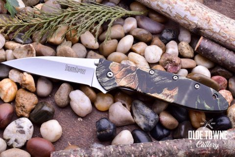 Kershaw 1660CAMO Leek Camo Assisted Flipper