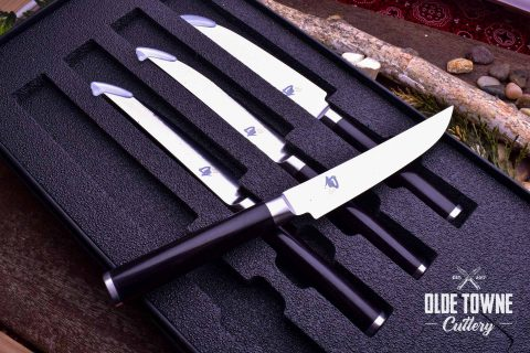 Shun DMS400 Classic 4 pc Steak Knife Set