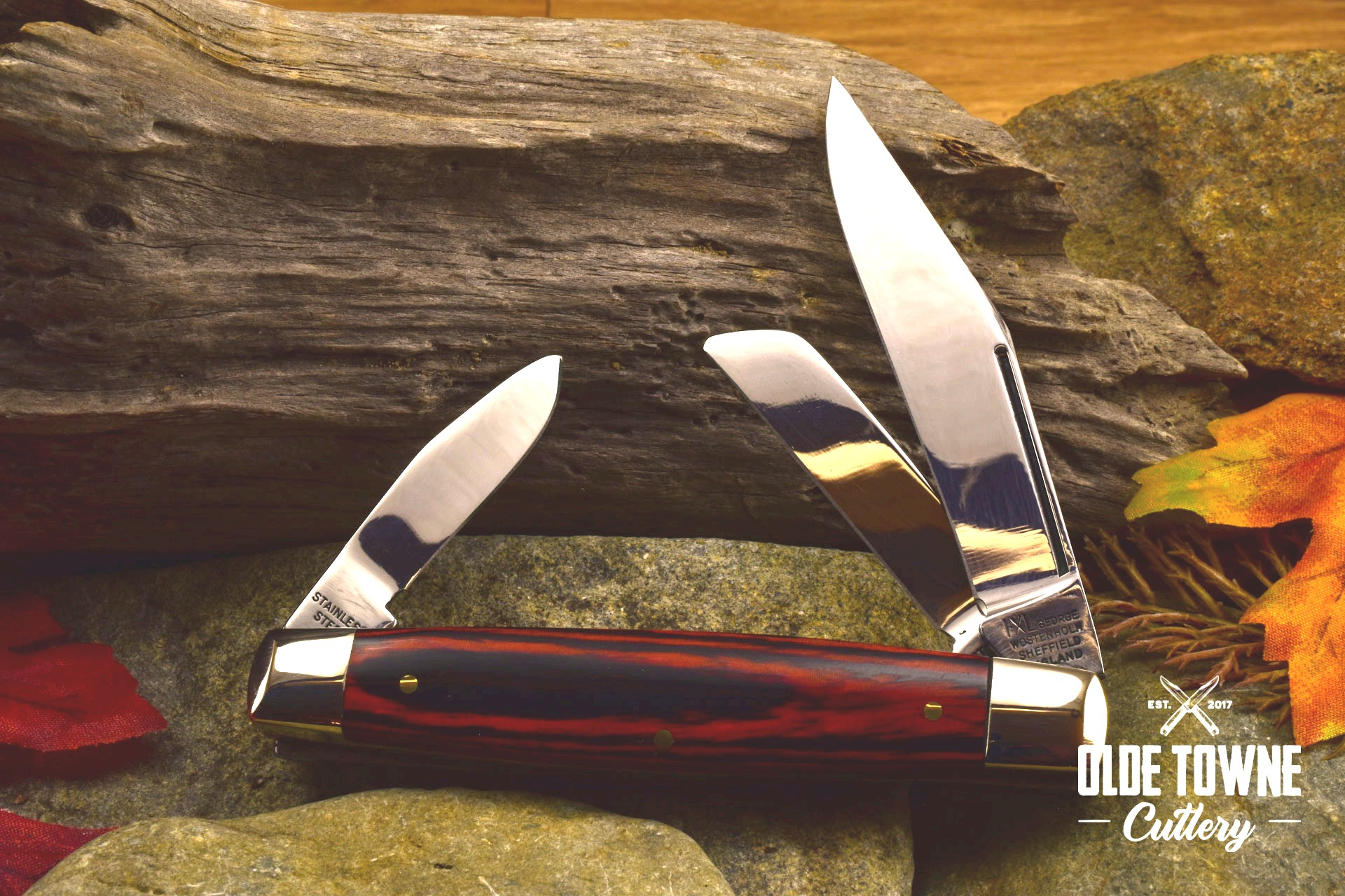 George Wostenholm 133E Three Blade Stockman