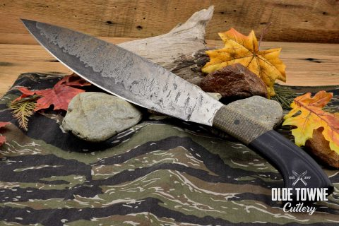 Alfa Knife Barong Black G10