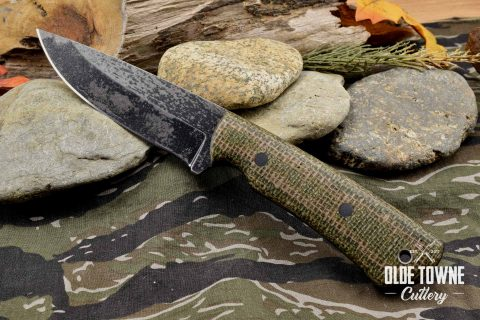 Alfa Knife Hunter Green/Brown Burlatex