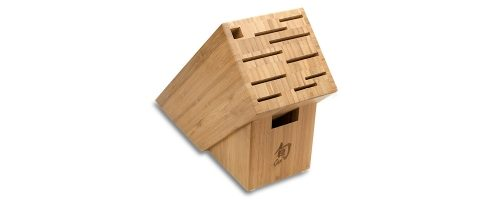 Shun DM0831 Bamboo Block: 11-Slot