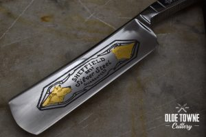 "Thiers Issard Razor 6/8"" Sheffield Silver Steel Snakewood (C)"