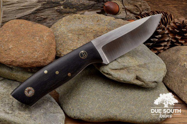 Due South Knives Chickamauga Hunter African Blackwood