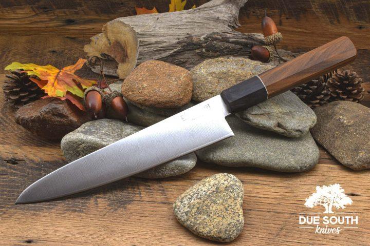 """Due South Knives Akagi Chef 8"""" Granadillo"""