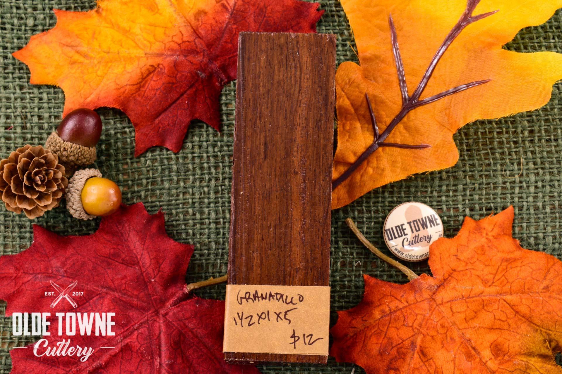 Handle Material Granadillo 1 1/2 x 1 x 5 Block
