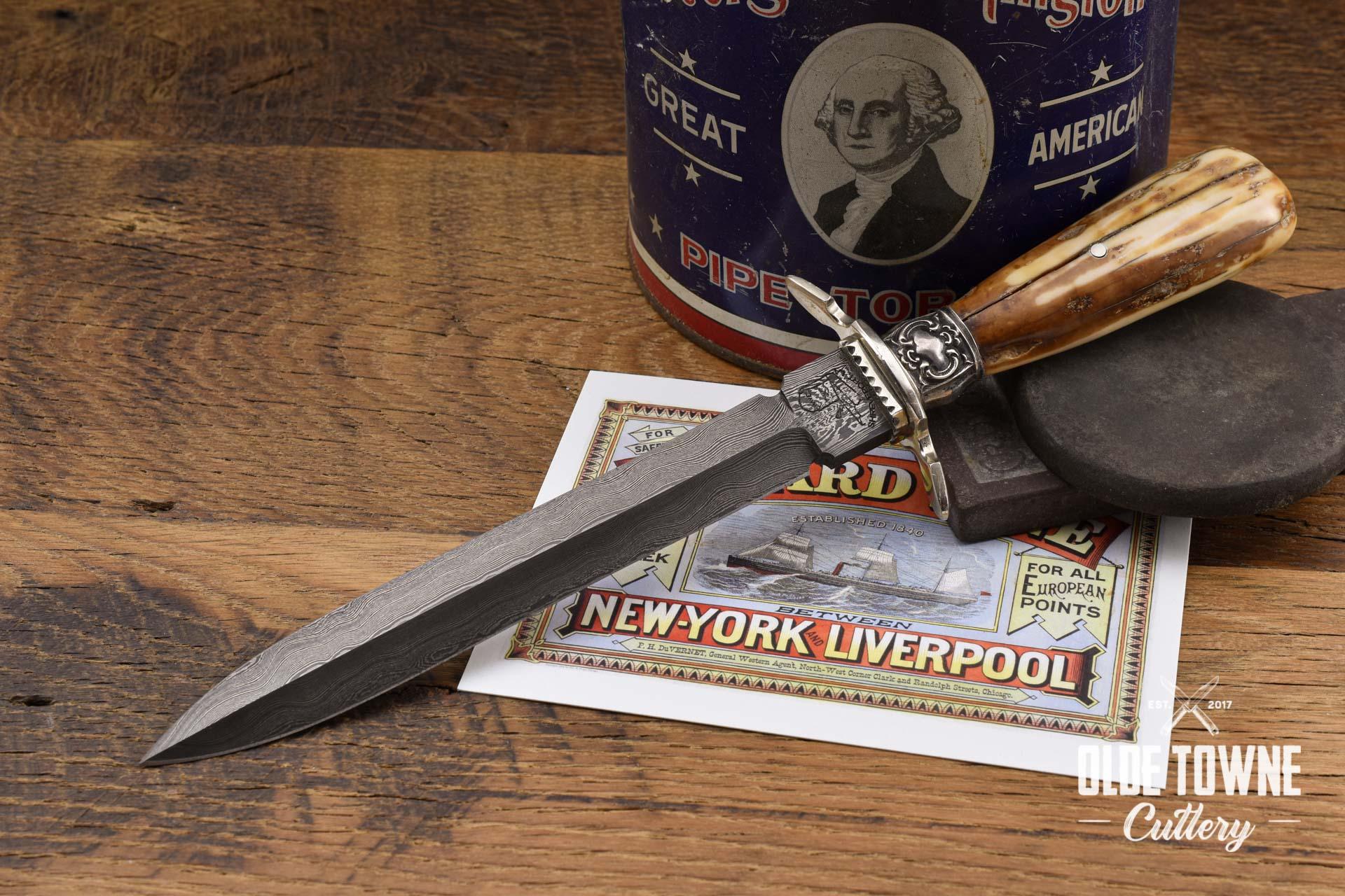 Pre-Owned Dan Graves Dagger Mammoth Ivory (C)