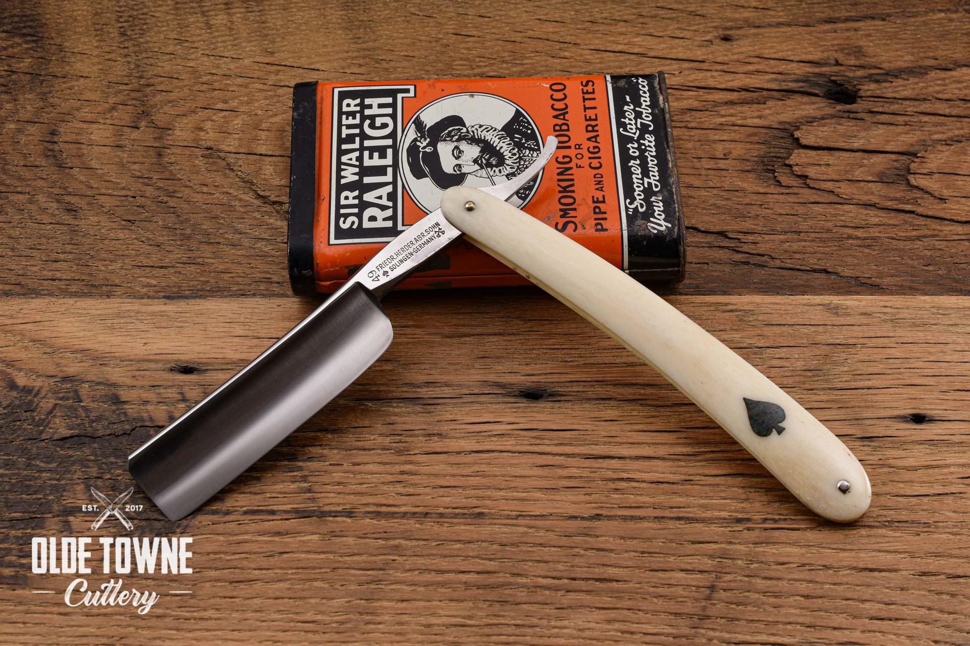 Vintage Friedrich Herder White Bone