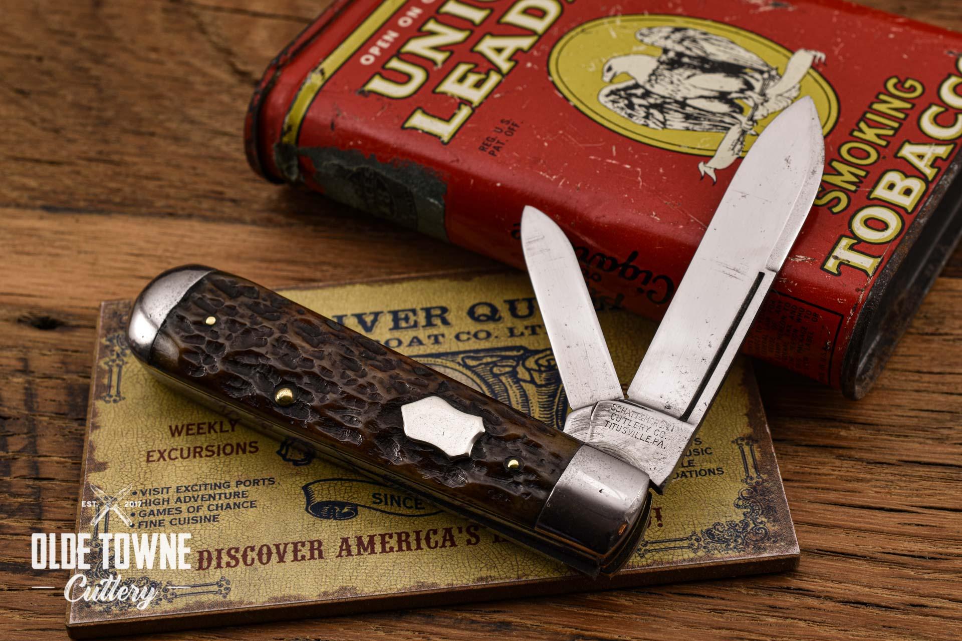 Vintage Schatt & Morgan 2 bl English Jack