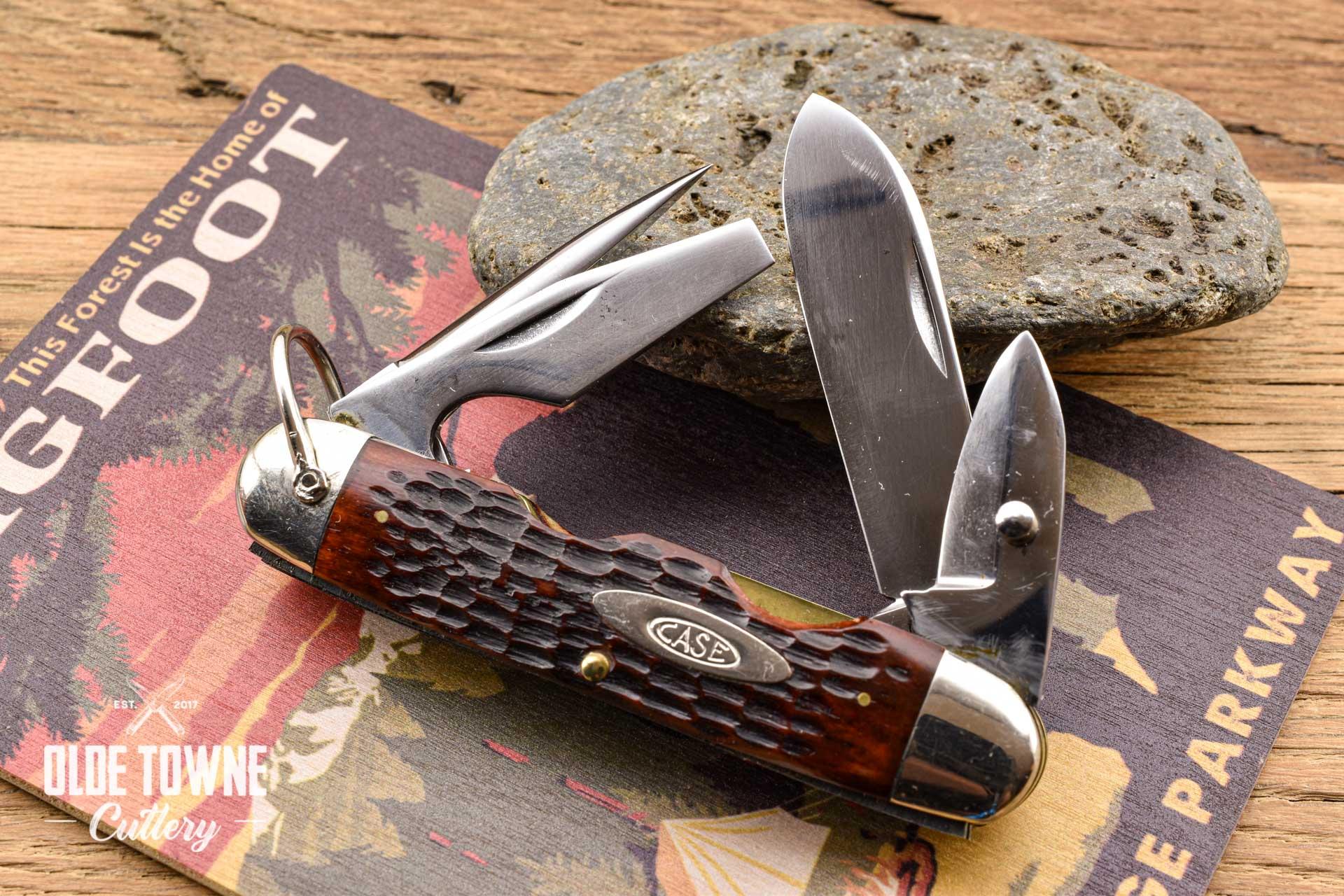 Vintage Case 6445r Scout Bone