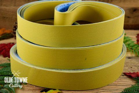 "Klingspor's Abrasive Belt 2"" x 48"" 400 GRIT (YELLOW)"