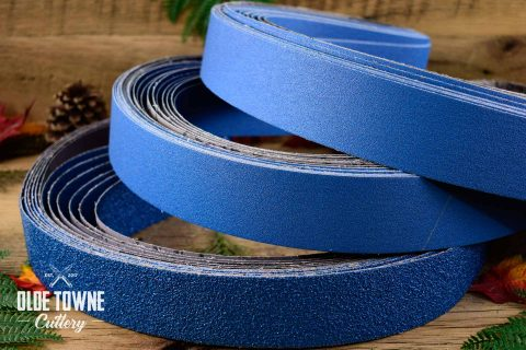 "Klingspor's 2"" x 72"" Alum Zirc 36-grit (BLUE)"