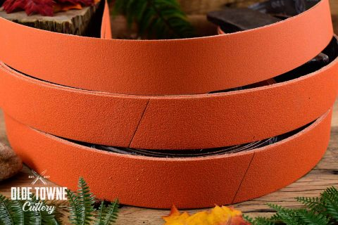 "Norton Abrasive Belt 2"" x 72"" 80 GRIT Ceramic (ORANGE)"