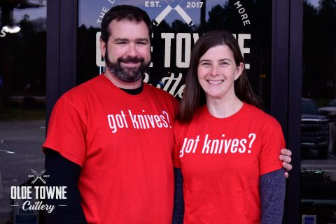Got Knives? 4X T-Shirt Red