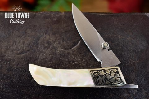 Pre-Owned Tim Britton Custom Mother of Pearl (C)